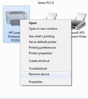 máy tính laptop không in được 2