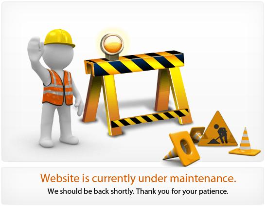 website bảo trì