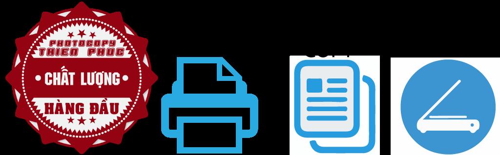 chức năng cơ bản của máy photocopy